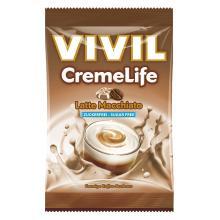 Bomboane cremoase Vivil Creme Life Latte Macchiato fara zahar 110g