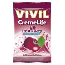Bomboane cremoase Vivil Creme Life Cirese fara zahar 110g