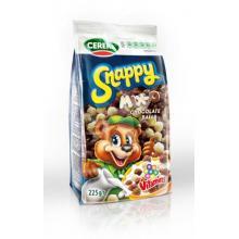 SNAPPY MIX O Bilute din cereale acoperite cu ciocolata alba si ciocolata cu lapte cu 9 vitamine 225g
