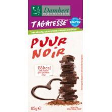 Ciocolata neagra fara zahar cu tagatoza 85g