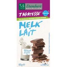 Ciocolata cu lapte fara zahar cu tagatoza 85g