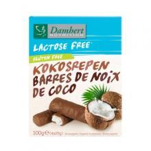 Batoane de ciocolat cu nuc de cocos f r lactoz f r gluten 100g 4 buc x 25g