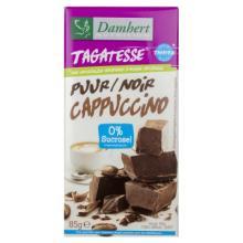 Ciocolata neagra cu cappuccino fara zahar cu tagatoza 85g