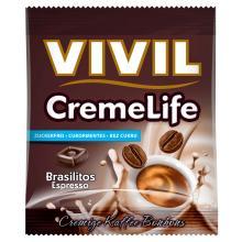 Bomboane cremoase Vivil Creme Life Brasilitos Espresso fara zahar 40g