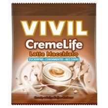 Bomboane cremoase Vivil Creme Life Latte Macchiatto fara zahar 40g