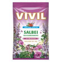 Bomboane Vivil Salvie cu vitamina C fara zahar 80g