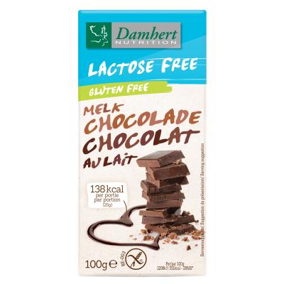 Ciocolata cu lapte fara lactoza si fara gluten 100g